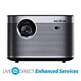 CACACOL Updated XGIMI H3 Android 3D Smart TV Home Cinema 4K Beamer Projector | Native 1080p HD |...